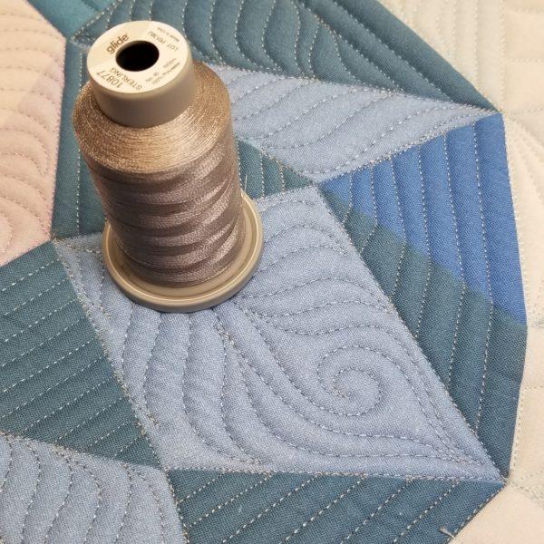 Sterling gray glide thread