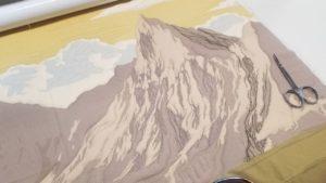 thread painting on longarm