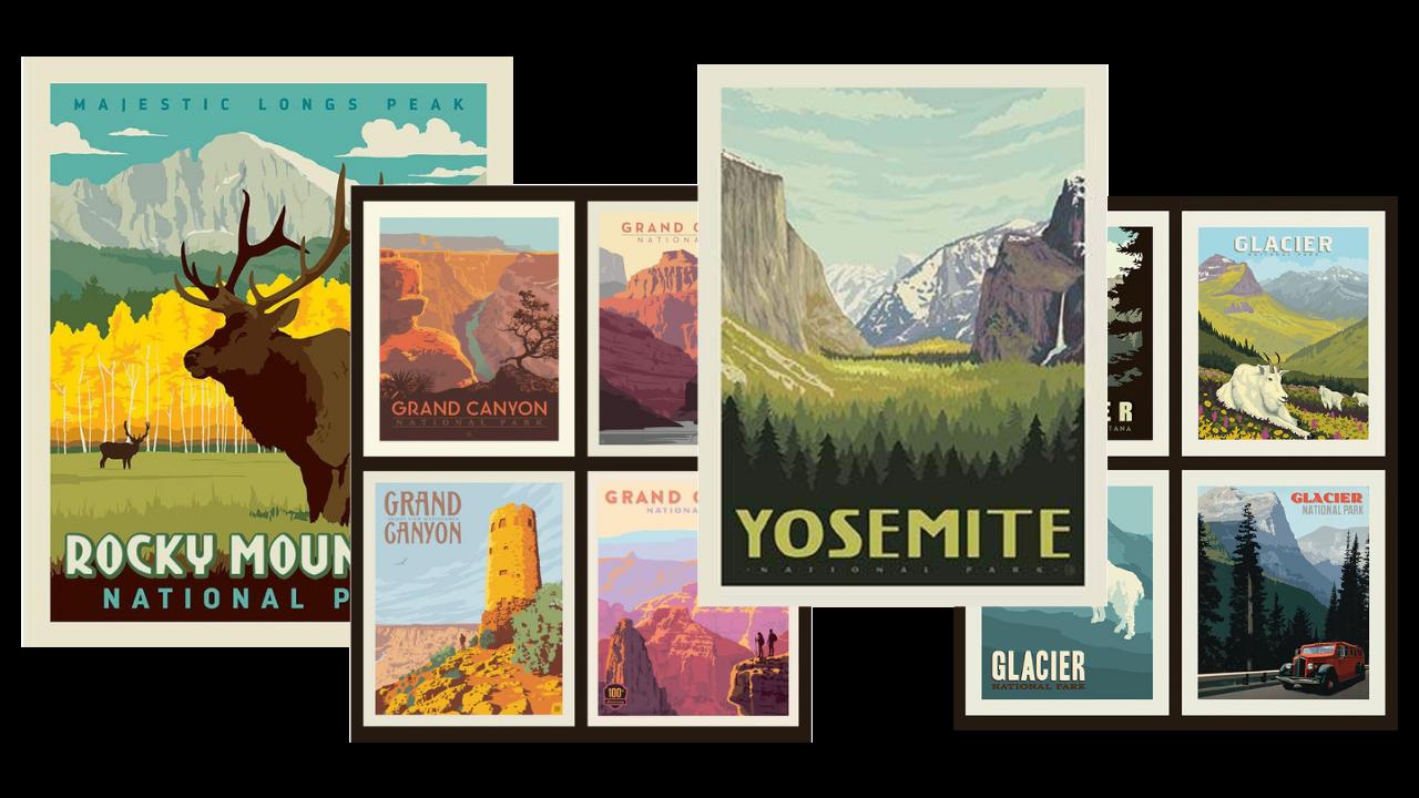 national parks panels