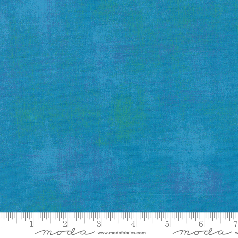 turquoise grunge extra wide fabric