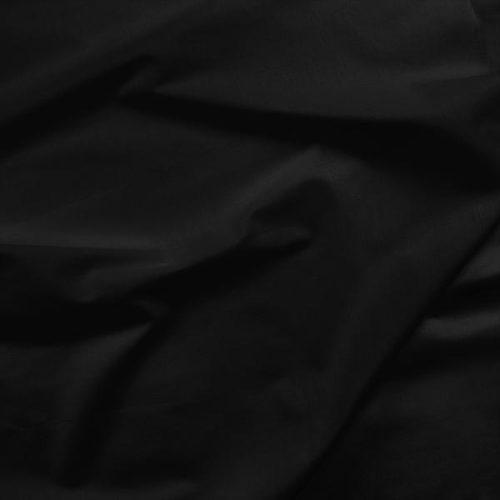 ebony black solid fabric
