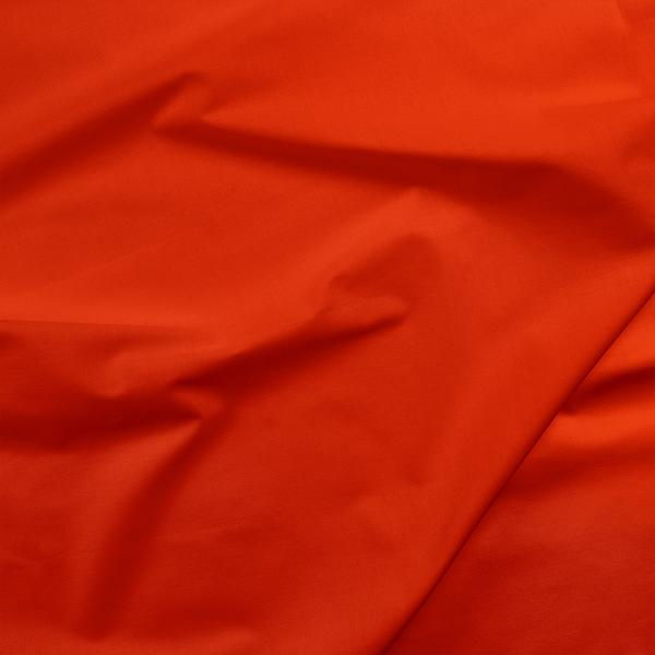 poppy red solid fabric