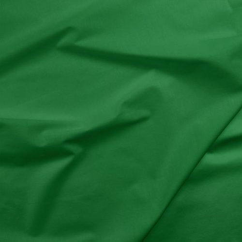 green solid fabric