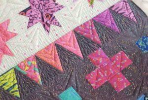 tula pink decorative stitches quilt