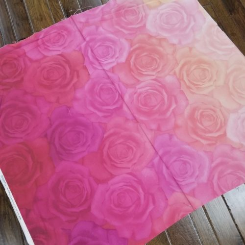 gradients rose fabric by moda