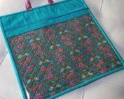 handiwork by alison glass vinyl pouch