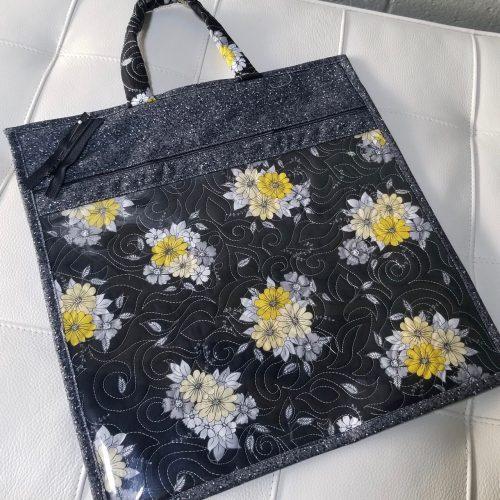 vinyl block pouch