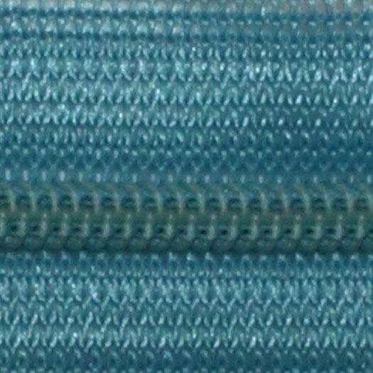 teal zipper