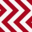 half moon modern red zig zag fabric 32349-15