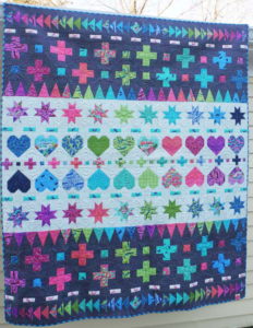 tula pink decorative stitches quilt