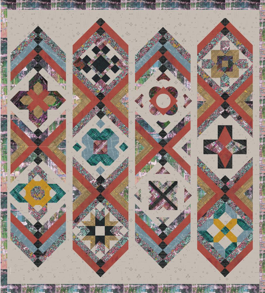 Build a quilt layout 2 urban grid