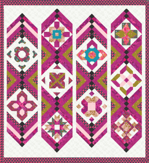 build a quilt kit with handiwork fabric