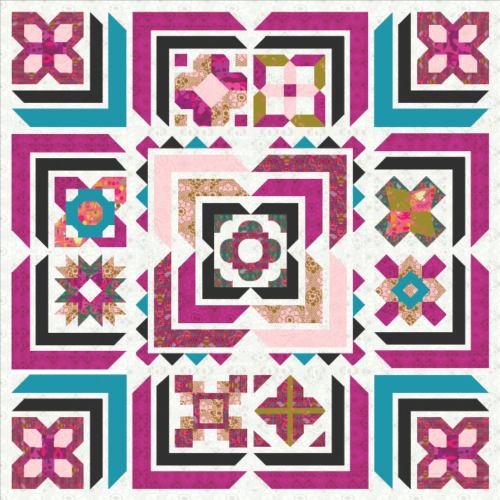 build a quilt layout