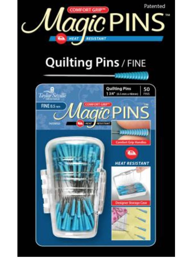 Magic Pins Quilting Fine 50pc