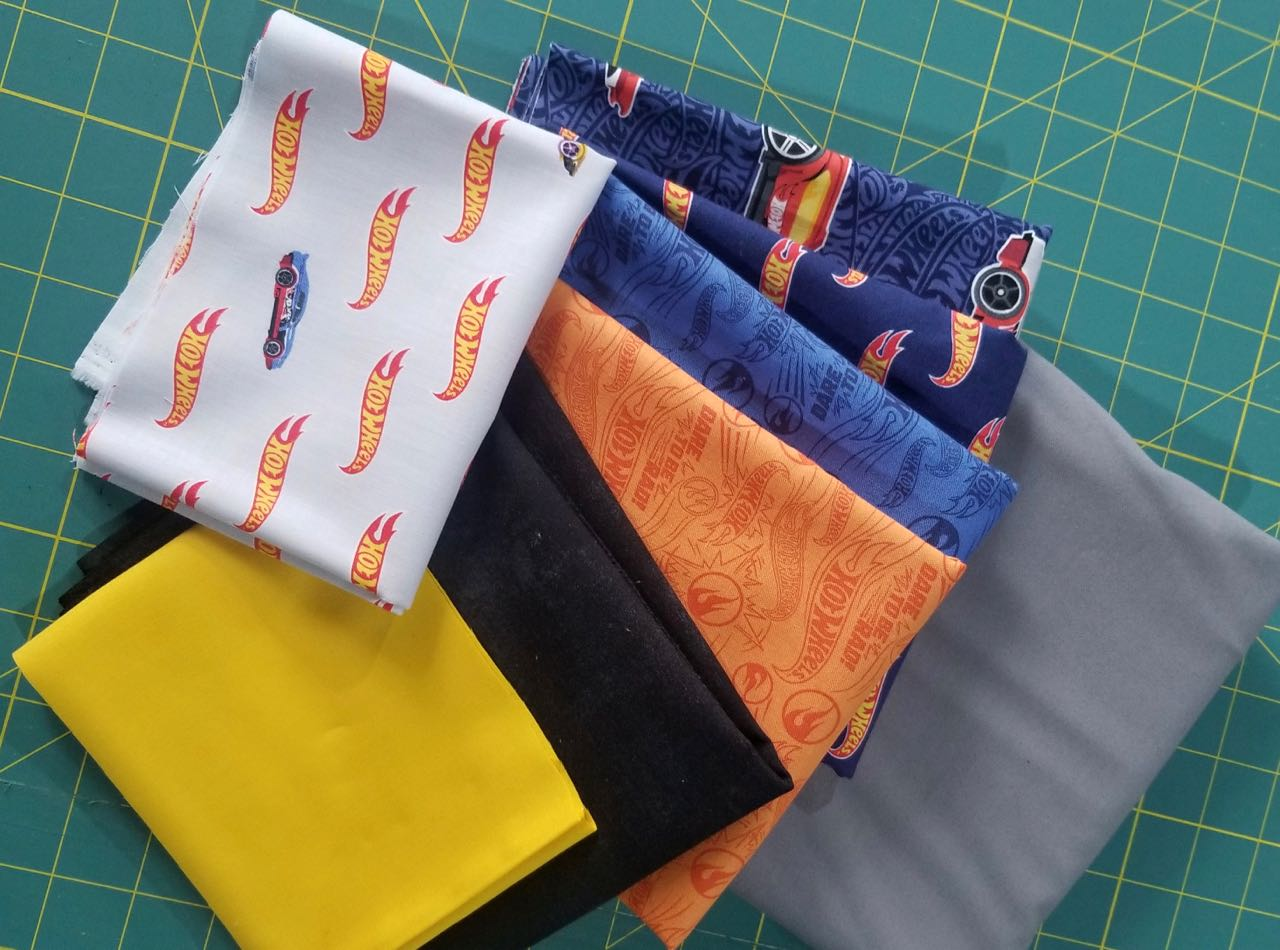car quilt kit and pattern
