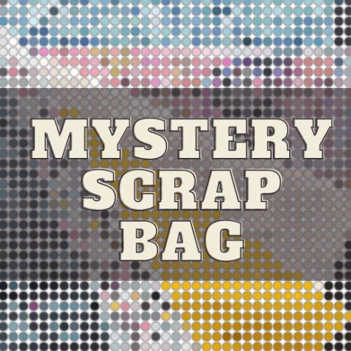 mystery fabric scrap bag