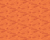 orange hot wheels fabric
