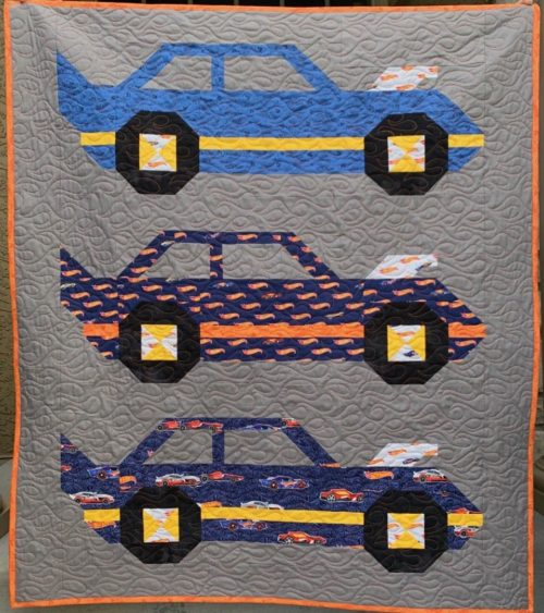 hot wheels quilt kit