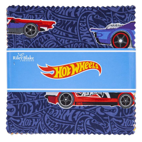 hot wheels fabric