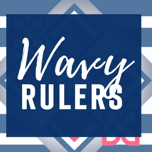 Wavy Machine Quilting Rulers