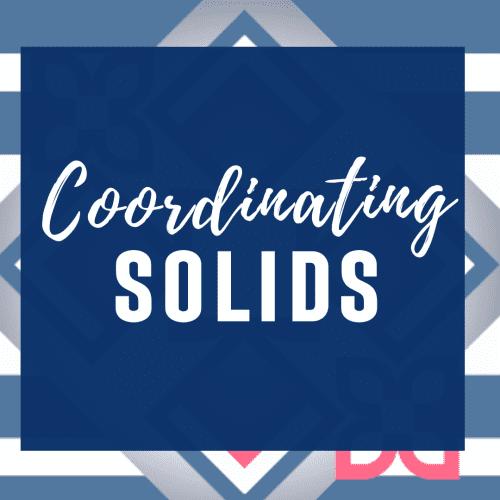 Coordinating Solids