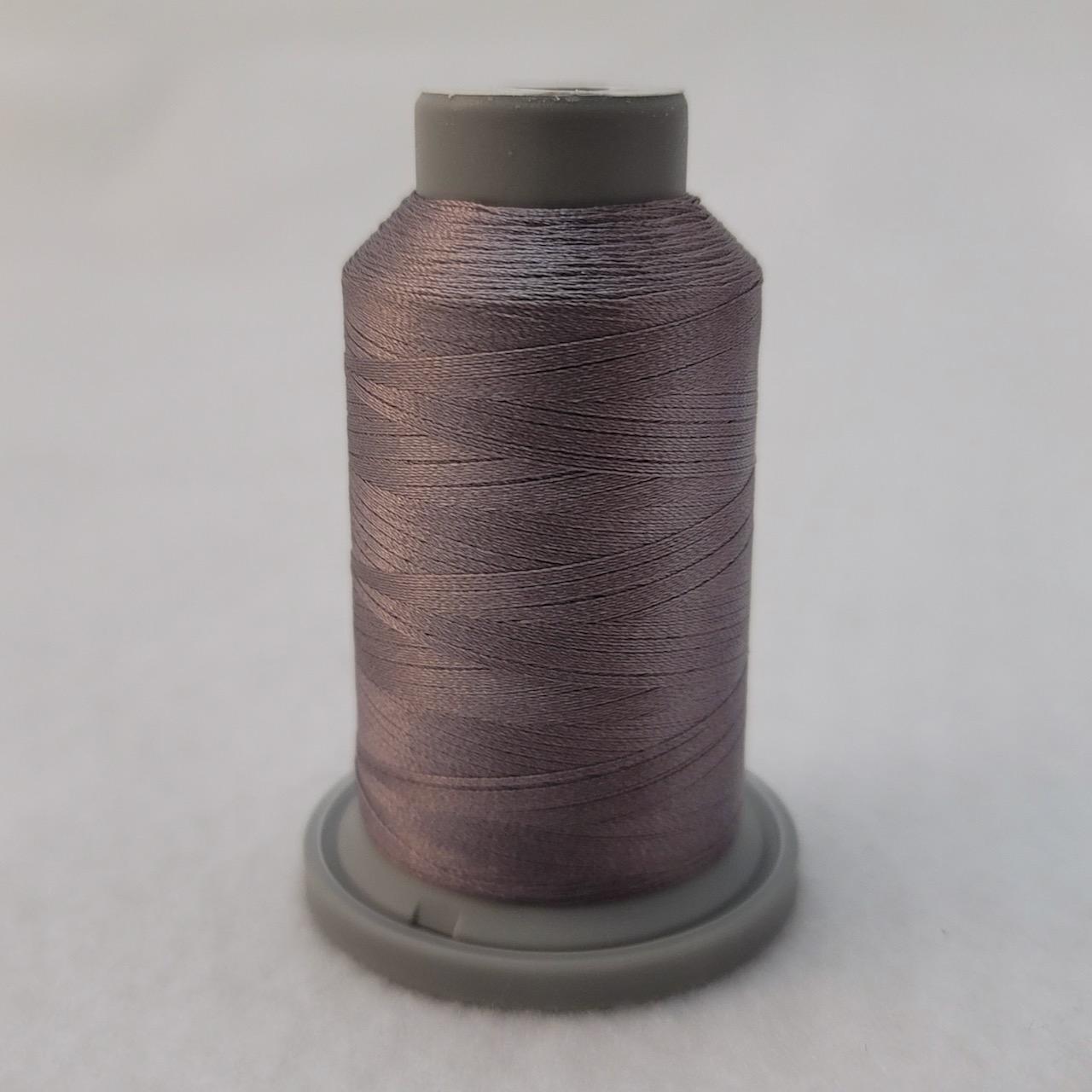 dark gray glide machine quilting thread