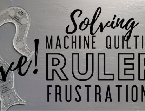 Live Chat – Solving Common Machine Quilting Ruler Frustrations