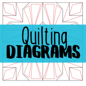 build a quilt quilting diagrams