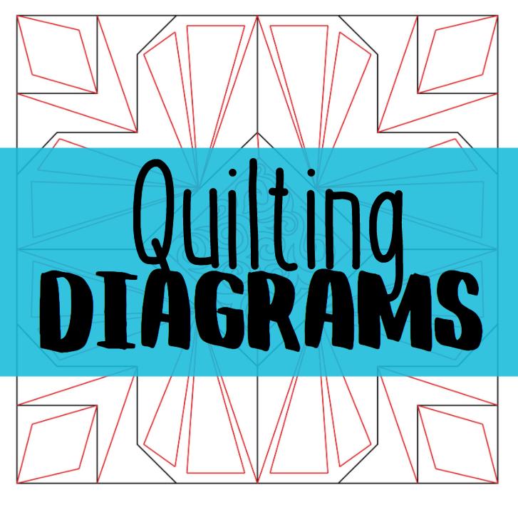 build a quilt quilting diagrams