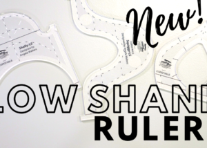 low shank machine quilting rulers
