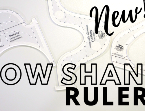 Introducing New Low Shank Machine Quilting Rulers