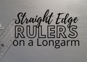 how to quilt with rulers on a longarm