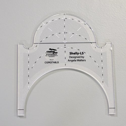 shelly low shank machine quilting ruler