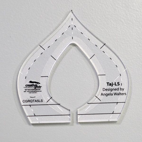 taj low shank machine quilting rulers