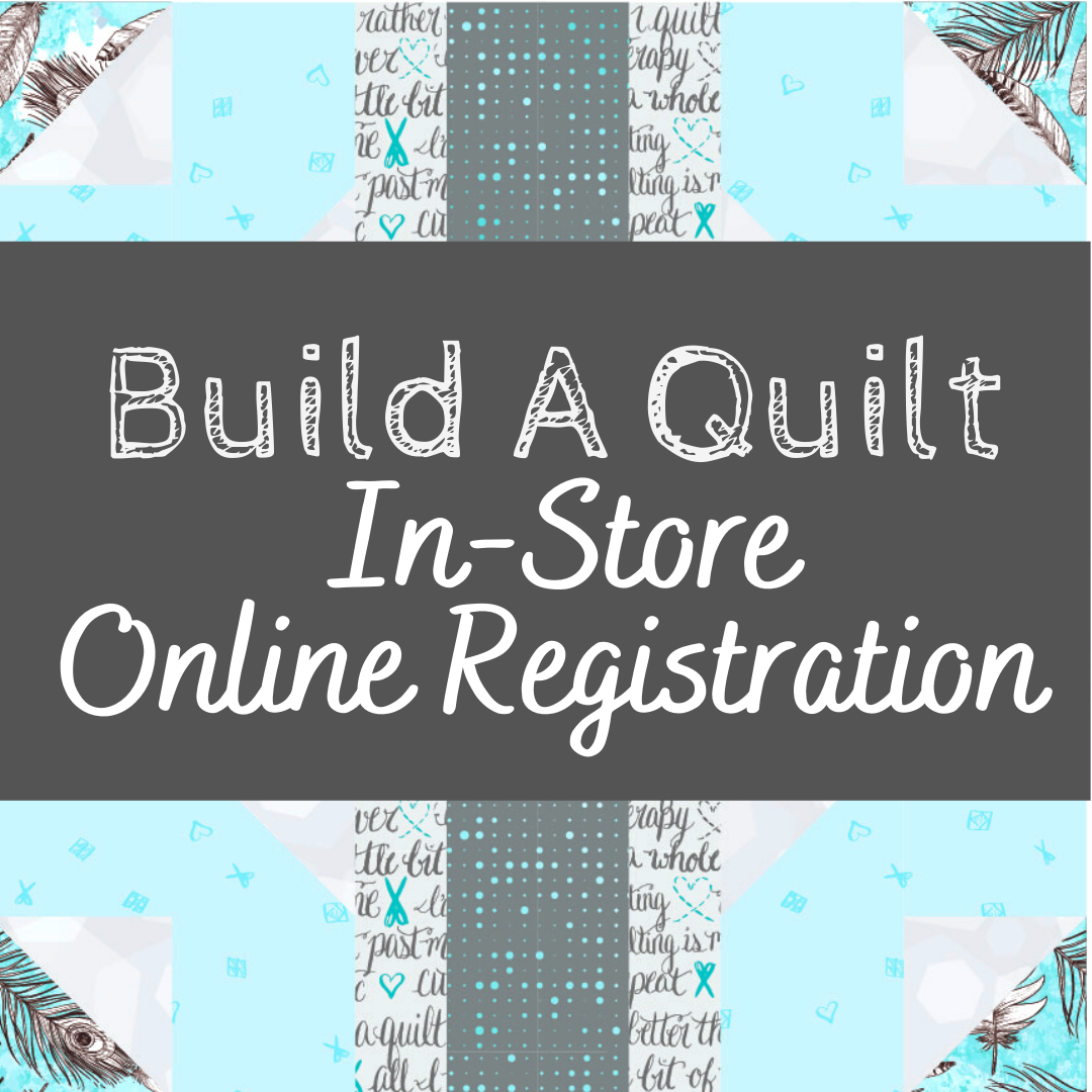 build a quilt in store option