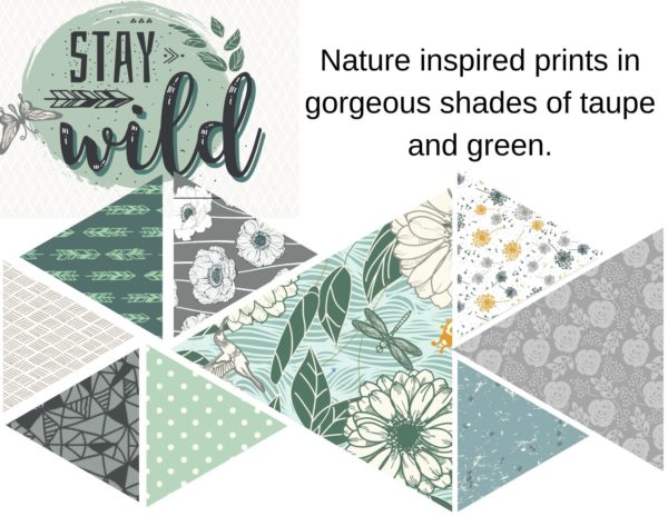 stay wild build a quilt block of the month