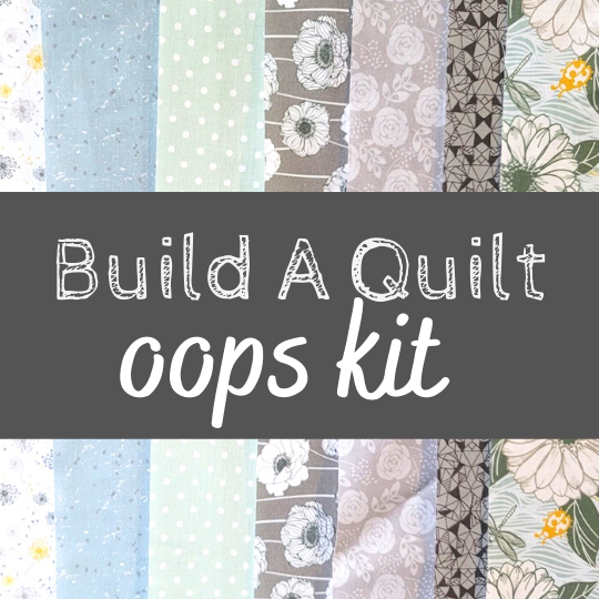 stay wild build a quilt oops kit