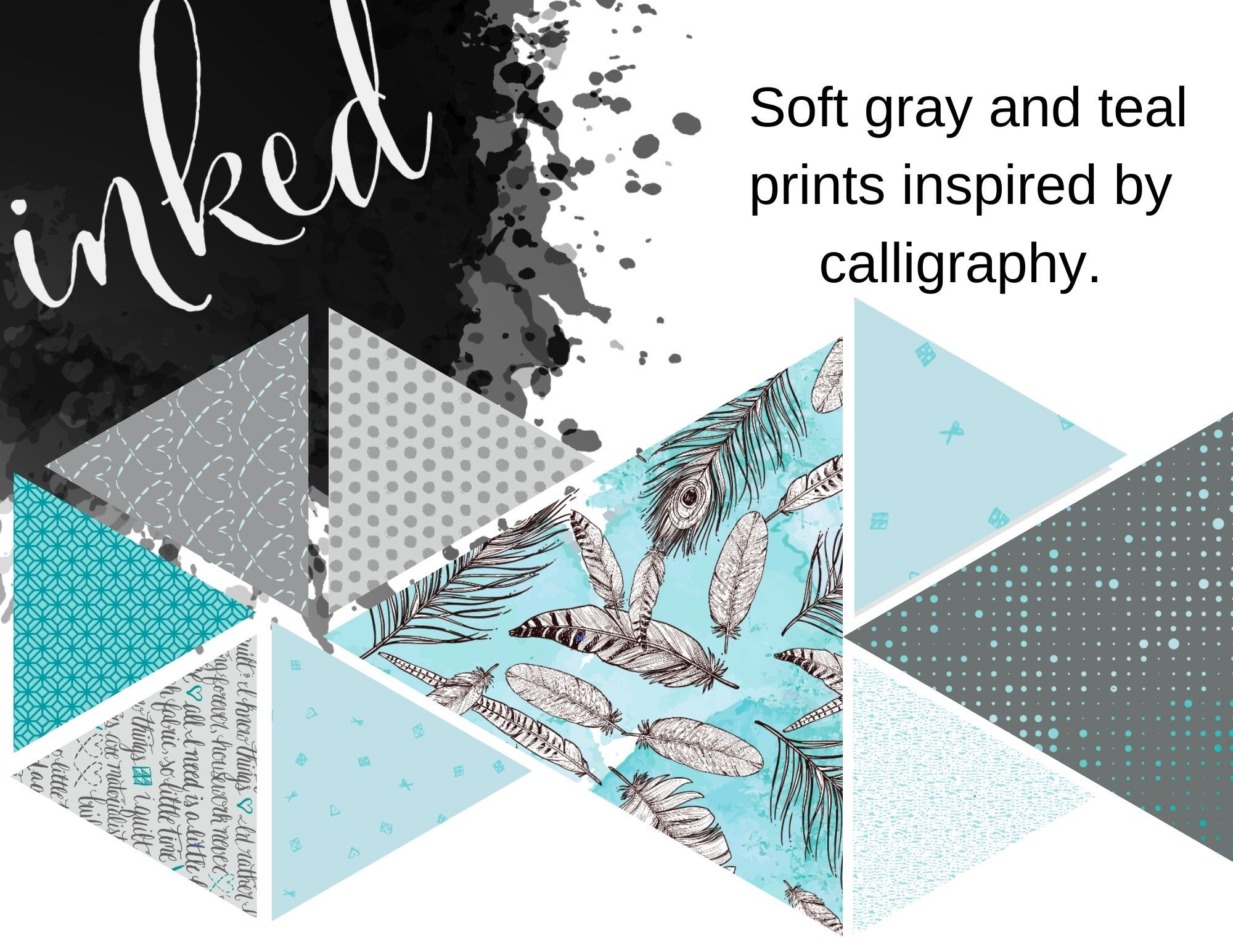 build a quilt inked color way
