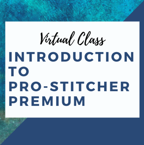 virtual pro-stitcher class