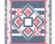 panel play quilt kit red option