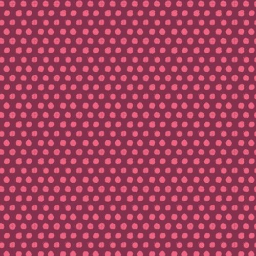 199034 inked rainbow pink dots