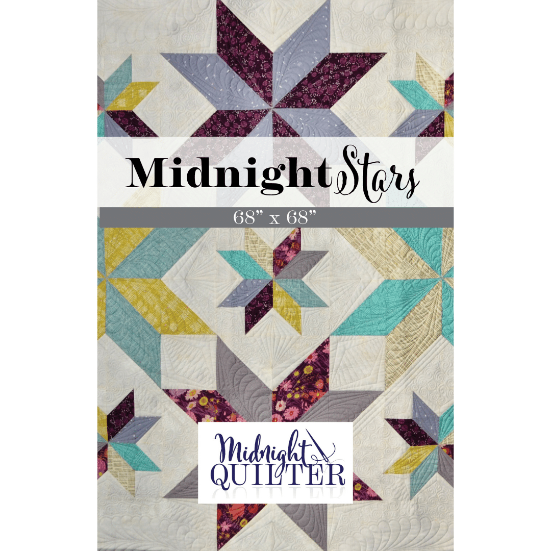 midnight stars quilt pattern