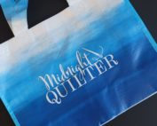 midnight quilter laminated tote