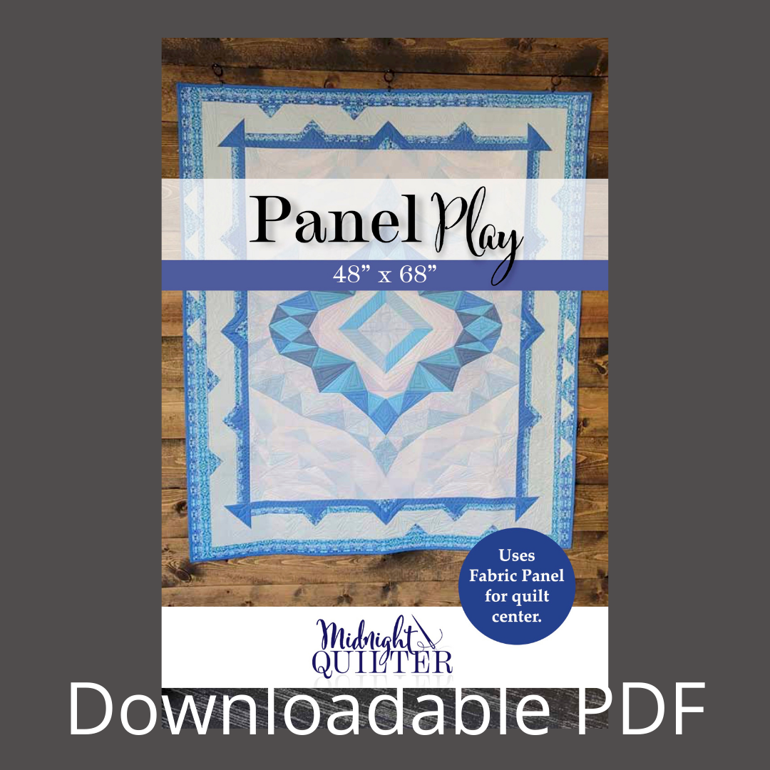 panel play quilt pattern downloadable