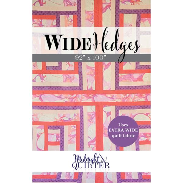 wide hedges quilt pattern