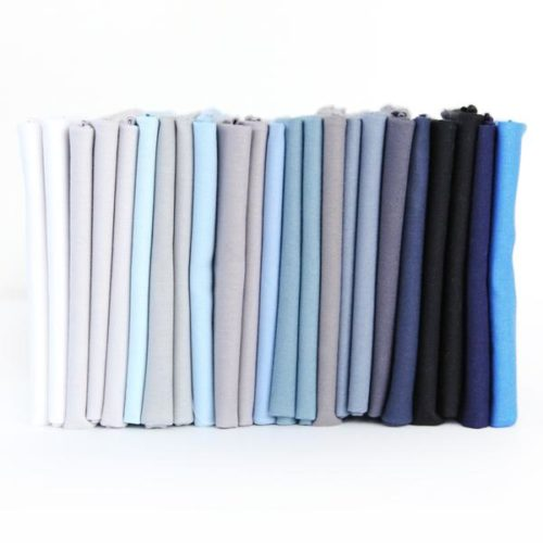 blue solids FQ Bundle