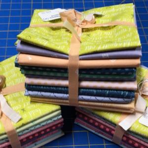 rainbow inked fat quarter bundle