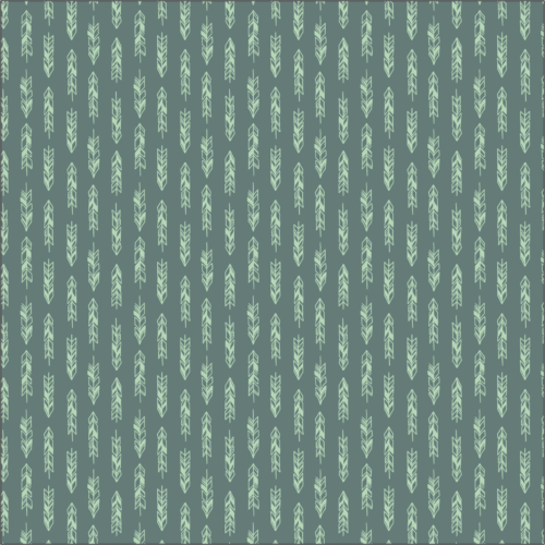 green arrows fabric