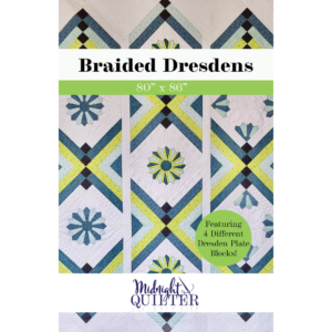 braided dresdens quilt pattern