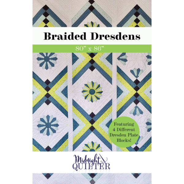 braided dresdens quilt pattern